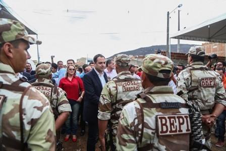 Governo de Pernambuco segurança