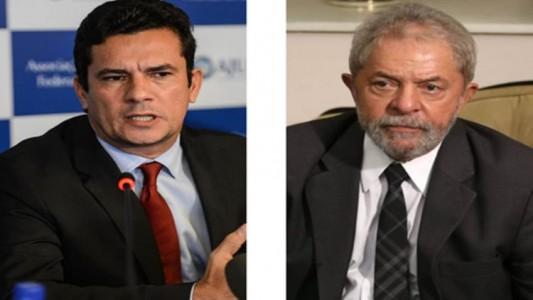 Lula cara a cara com o juiz Sérgio Moro pela primeira vez