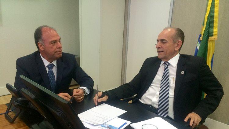 Fernando Bezerra e Marcelo Castro