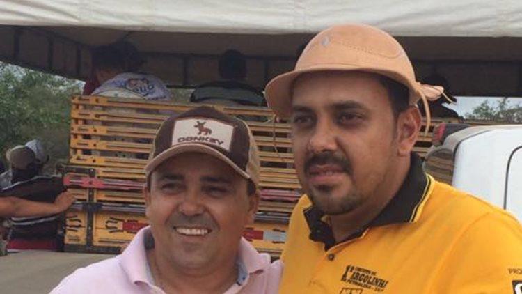 Tolentino e Gabriel Menezes