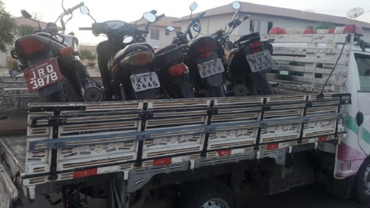 motos recolhidas