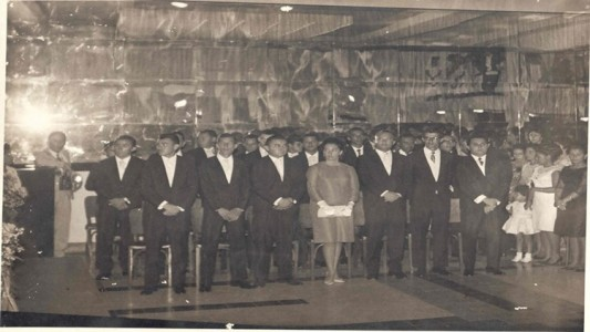 1ª turma de agrônomos da Uneb (Foto: arquivo Dtcs)