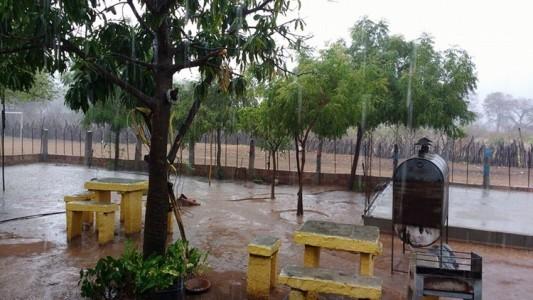 Chuva no Capim