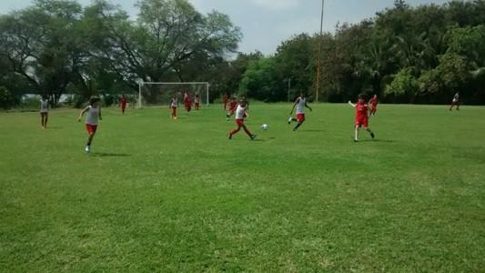 Escolinha de futebol Sindsemp. (Foto: Divulgação)