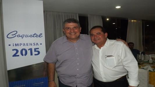 Guilherme Coelho e Ronaldo Silva (Foto: Jean Brito)