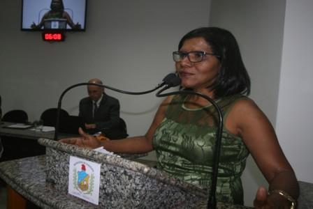 Vereadora Valdeci Alves (Foto: Joselito Tavares)