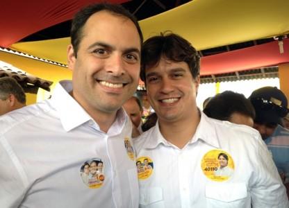 Paulo Câmara e Lucas Ramos