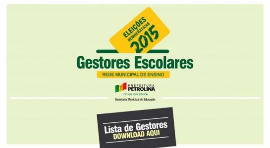 RESULTADO GESTORES ESCOLAS