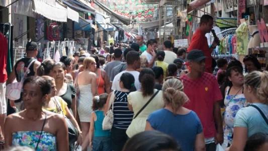 O camelódromo espalha-se por 11 ruas do centro do Rio de Janeiro