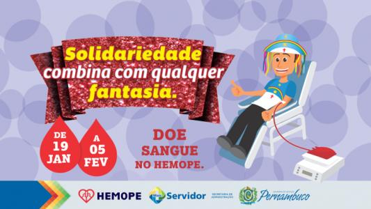 Mais servidor doador de Sangue 1