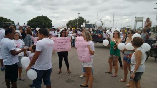 Protesto na Ponte 2