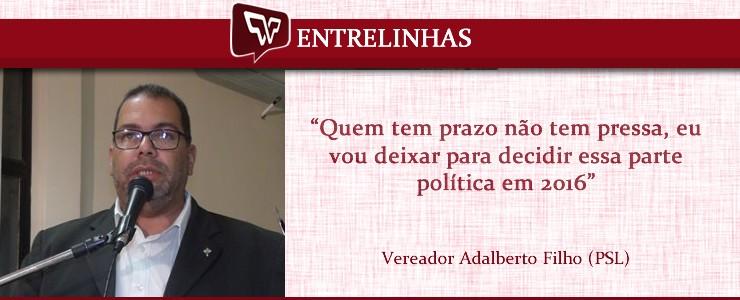 Vereador Betão - Futuro político