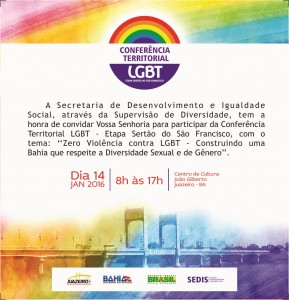 convite LGBT