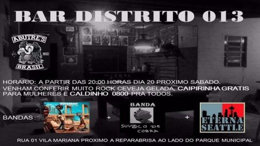 Bar do Distrito 1. 19.2