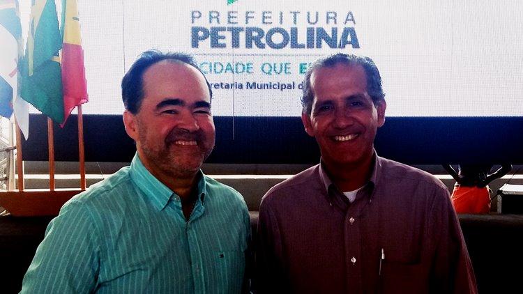 Cel Leite e Julio Lossio