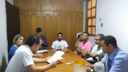 Conselho de Juventude  na Casa dos Conselhos