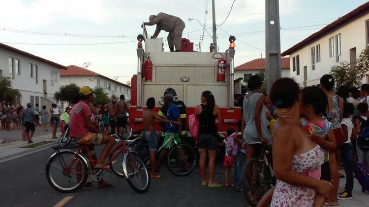 Incêndio Residencial Brasil 01