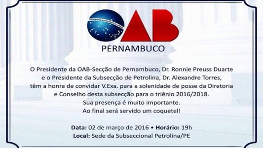 OAB Petrolina 2