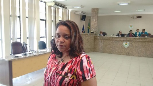 Vereadoras Cristina Costa (Foto. Jean Brito)