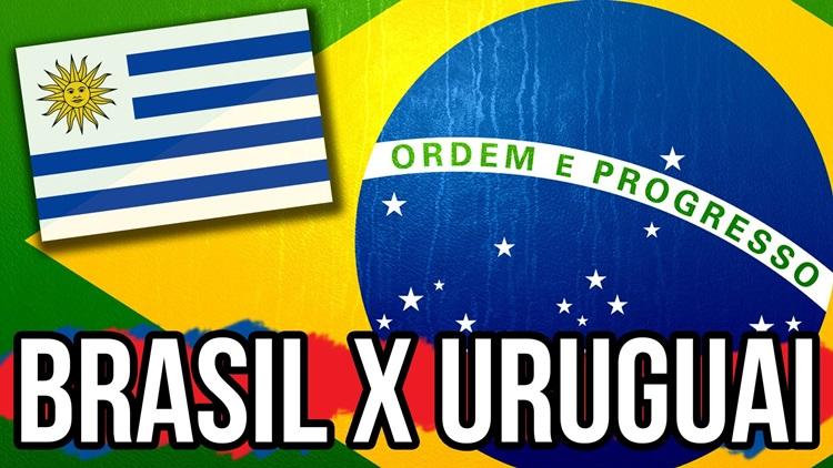 brasil e uruguai