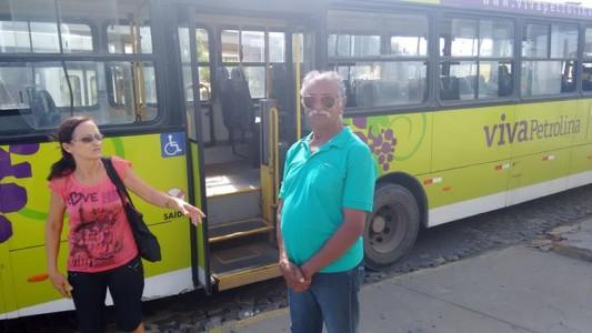 ônibus quebrado viva José de Souza