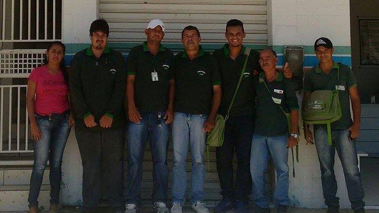 Agentes endemias Sobradinho-BA