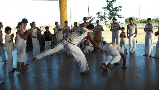 Capoeira no Vale
