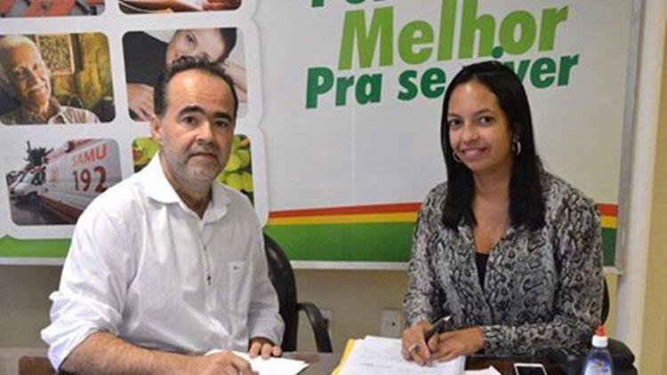 Julio Lossio e Tatiane Lima