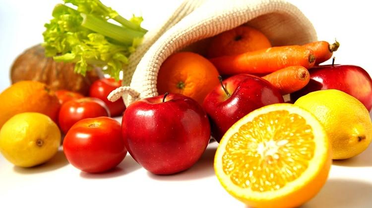 alimentação frutas
