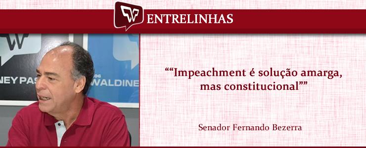 Fernando Bezerra Impeachment