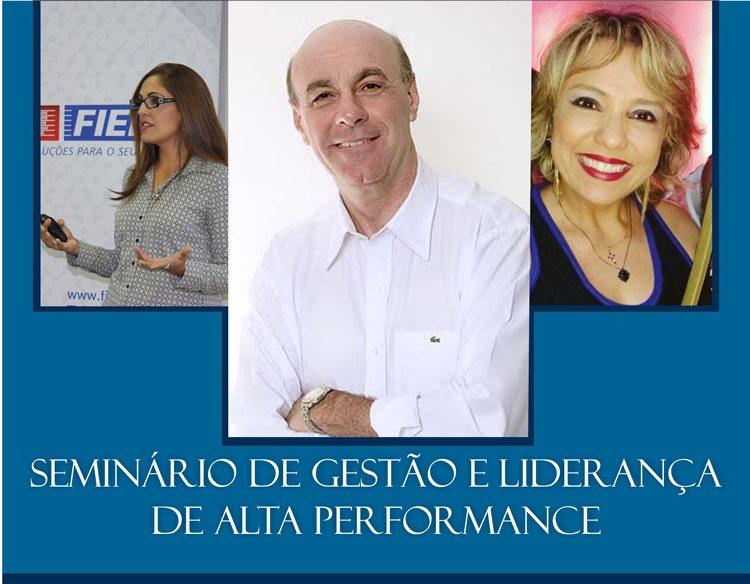 Durante o Seminário, dois cases de liderança serão apresentados por profissionais do mercado regional