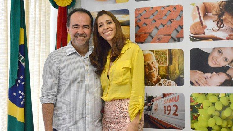 Gilmara secretária de educação