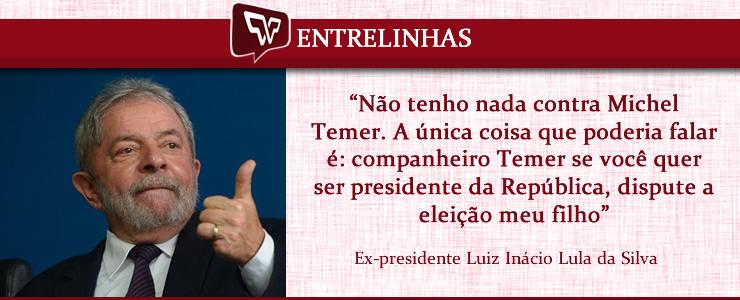 Lula para Temer