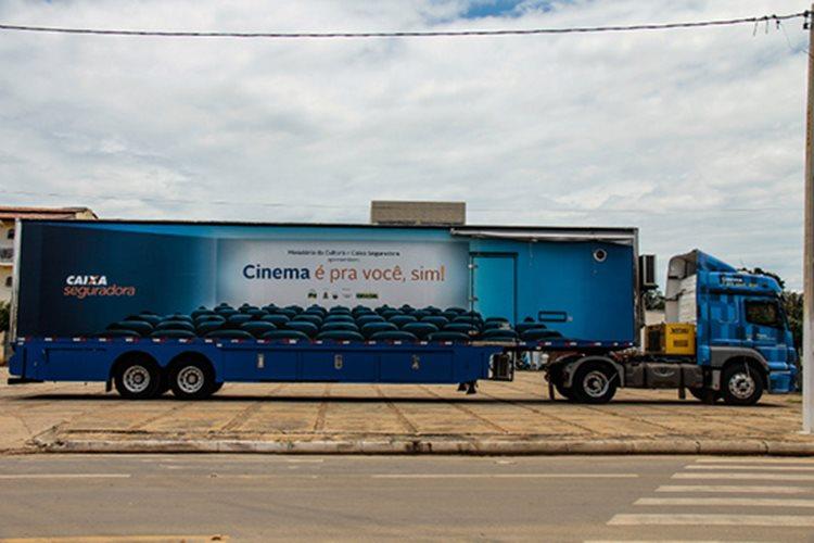 Projeto de cinema vai disponibilizar cinco sessões diárias/Foto: ASCOM