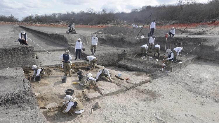 Os vestígios patrimoniais coletados em campo são objeto de pesquisa para os pesquisadores e para estudantes da área de arqueologia, paleontologia e ambiente do semiárido/Foto: divulgação