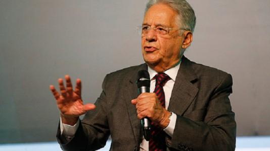 FHC disse que não cabe a ele contestar as declarações do petista e lamentou o momento difícil por que passa Lula./ Foto: Internet