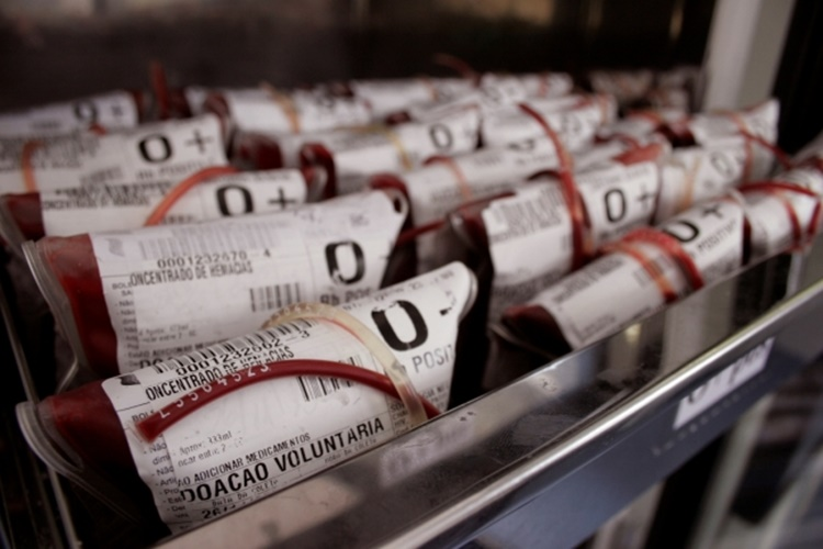O tipo sanguíneo negativo é o mais difícil de ser encontrado/Foto: divulgação