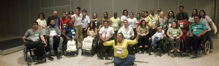 Durante o evento estão sendo discutidas questões como os direitos da pessoa com deficiência/Foto ASCOM