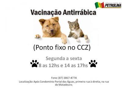 vacinação antirrabica