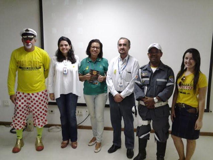 O evento foi realizado no auditório da Chesf, em Sobradinho(BA) com o objetivo de disseminar a cultura proativa de segurança no trânsito, estabelecendo práticas que previnam a ocorrência de acidentes/Foto: ASCOM