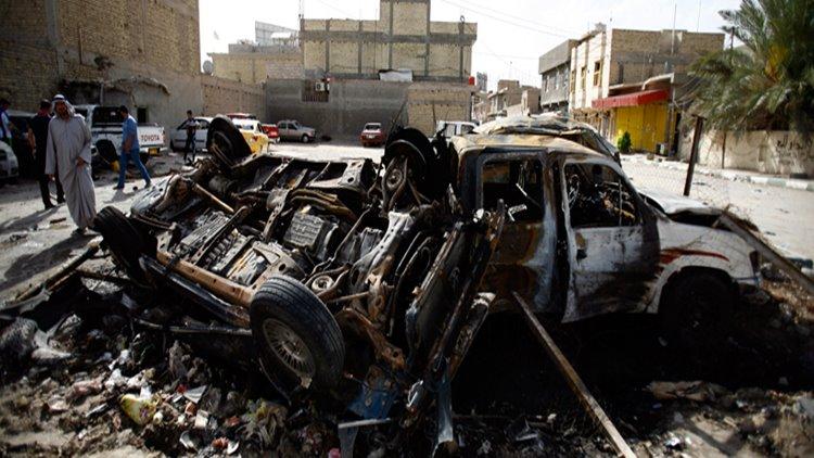 Atentado Iraque-carro