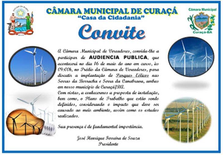 CONVITE JANUÁRIO AUDIENCIA