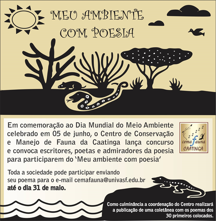 Concurso de Poesia Cemafauna