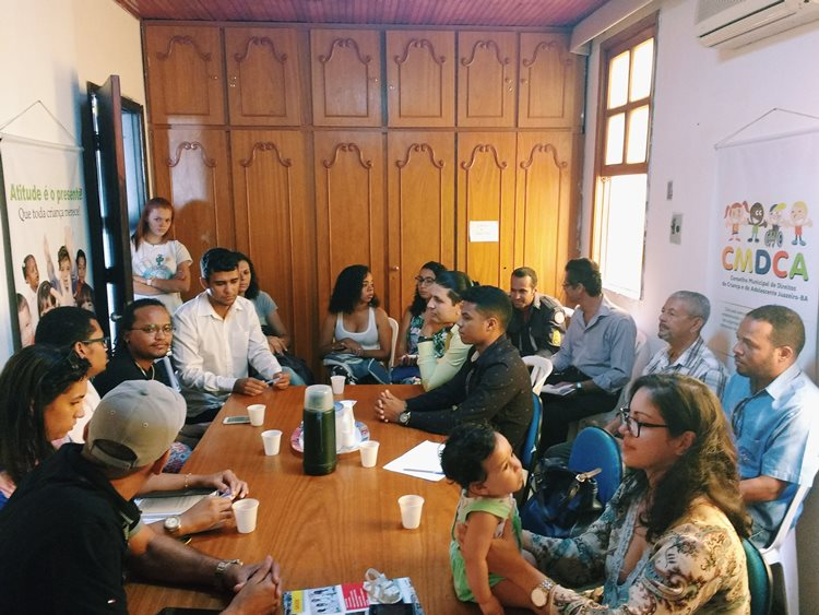 Os novos conselheiros debateram a importância de considerar a juventude em toda a sua pluralidade, pensando políticas que dialoguem com os jovens da sede do município e do interior/Foto:ASCOM