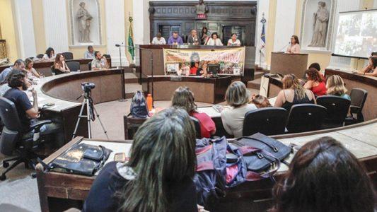 A comissão participou de audiência pública na Alepe feita para tratar do sistema socioeducativo (Foto: aquivo)