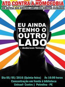 ato contra a homofobia
