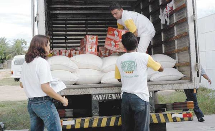 O Banco de Alimentos do SESC existe há onze anos. Atende uma média de oito mil pessoas de cinco municípios pernambucanos e dois baianos/Foto: ASCOM