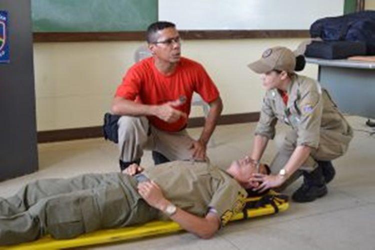 Nessa primeira fase são focadas as ações sobre como fazer uma reanimação cardiorrespiratória/Foto:internet