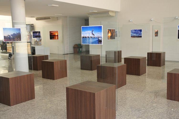População poderá prestigiar exposição que fica no Hall da Reitoria da Univasf até o próximo dia 24/Foto:Portal da Univasf