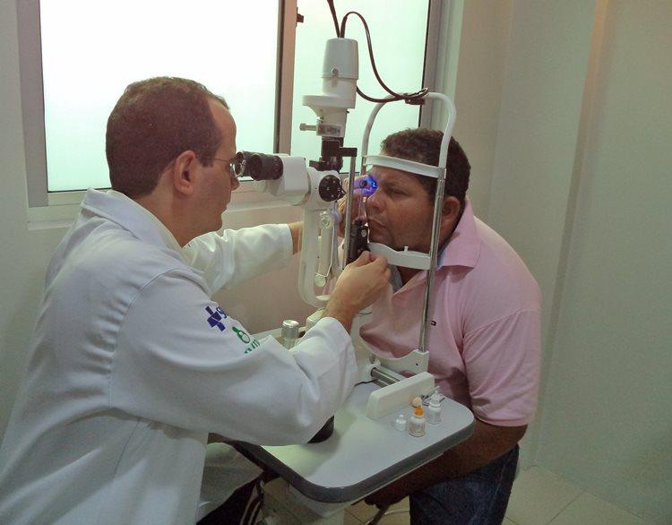 A UPAE de Petrolina dispõe de 3 oftalmologistas, que além das consultas clínicas realizam cirurgias/Foto:Assessoria